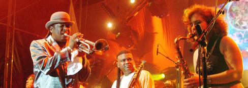 <b>Boney Fields & The bone's project</b>_Blowin' in the blues